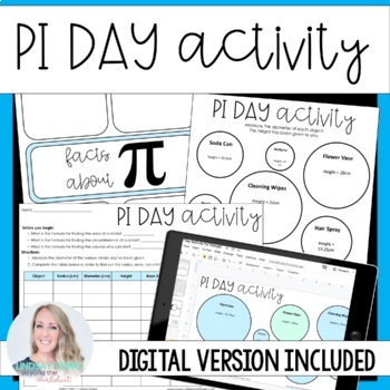 Pi Day Activity for Middle School
