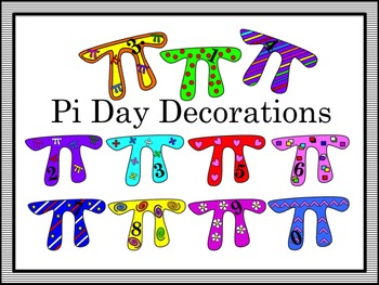 Pi Day Decorations