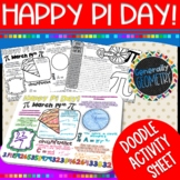 Pi Day Doodle Activity Sheet