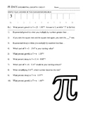 Pi Day - Exponential Growth and Decay