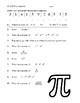 Pi Day - Exponents