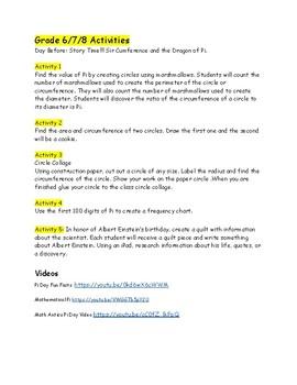 Pi Day Extravaganza Grades 4-8