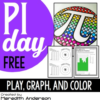 Pi Day FREEBIE: Graphing, Coloring, and a Game by Meredith ...