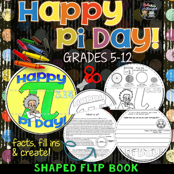 PI DAY FLIP BOOK FOR MIDDLE SCHOOL AND HIGH SCHOOL