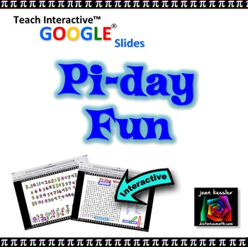 Pi Day Fun with GOOGLE Slides™