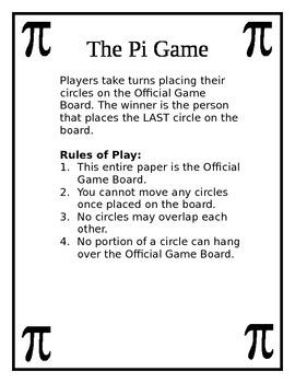 Pi Day Game
