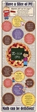 """Pi Day:  10"""" X  30"""" InfoGraphic"""