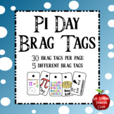 Pi Day Holiday Brag Tags   March 14