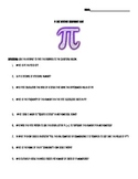 Pi Day Internet Scavenger Hunt