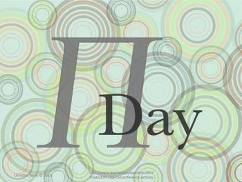 Pi Day Investigation Lesson