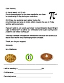 Pi Day Letter to Parents