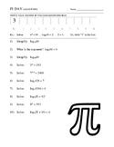 Pi Day - Logarithms
