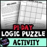 Pi Day Logic Puzzle for Middle School - Pi Day Activity or Any Day Activity