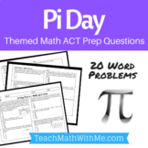 Pi Day Math ACT Prep Worksheet - Practice Questions ACT Math