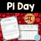 Pi Day Measuring Activity:  Measuring Circular Food