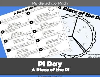 Pi Day Middle School Math