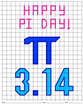 Pi Day Mystery Picture