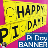 Pi Day Ordering Real Numbers Secret Message Banner Activity