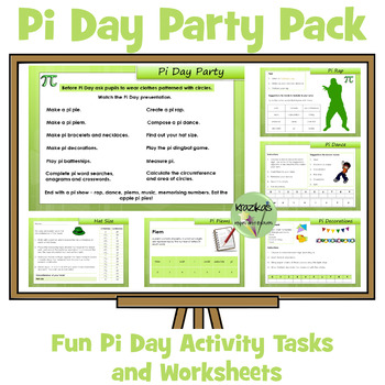 Pi Day Party Pack - Jam Packed With Activities