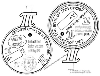 Pi Day Pennant