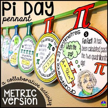 Pi Day Pennant {METRIC VERSION}