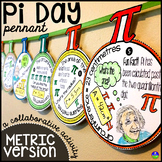 Pi Day Pennant {METRIC VERSION}