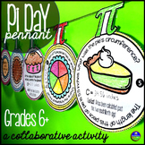 Middle School Math Pi Day Pennant Activity