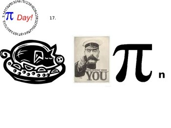 Pi Day Pictogram Puzzles Quiz