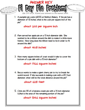 mathematical term pie The purpose of this site is to share a collection of old mathematical pie magazines with students and teachers of mathematics, or anyone else who has an interest in.