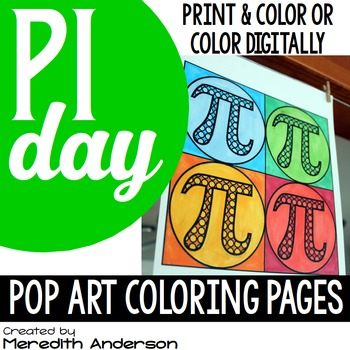 Pi Day Pop Art