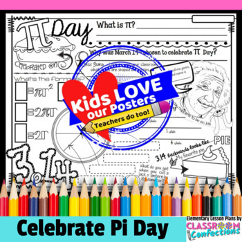 Pi Day Activity Poster