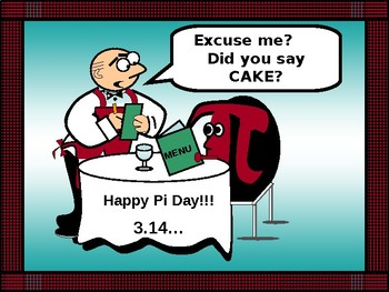 Pi Day Poster for the classroom