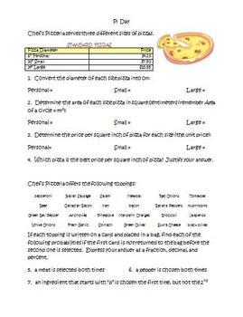 Pi Day Problem Solving