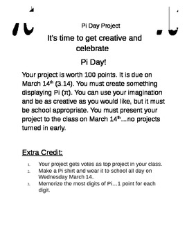 Pi Day Project