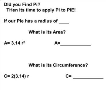 Pi Day: Quick Labs and Fun Treat! -Hands On.