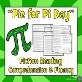 Pi Day Reading Comprehension Passage and Questions + Fluency