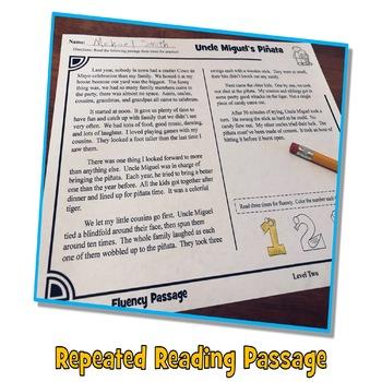 Cinco de Mayo Reading Comprehension Passage and Questions + Fluency