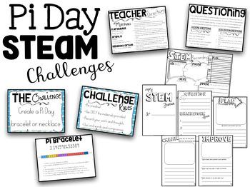 Pi Day STEAM Challenges