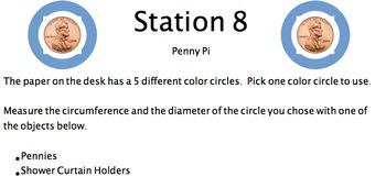 Pi Day Stations!