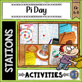 Pi Day Math Stations Middle School