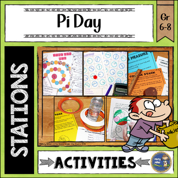 Pi Day Math Stations