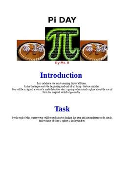 Pi Day Webquest