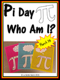 Pi Day - Who Am I Activity