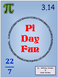 Pi Day (Word Problems, Mystery Picture, Pi Lab)