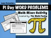 Pi Day Word Problems - Math Mixer Activity - Lower Elementary