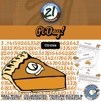 Pi Day! -- Yummy Circle & Cylinder Project