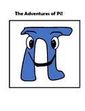 The Adventures of Pi Decorative Math Classroom Poster