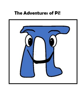 The Adventures of Pi Decorative Math Classroom Poster