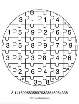 Pi Math Puzzle