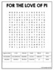 Pi Day Webquest and Word Search